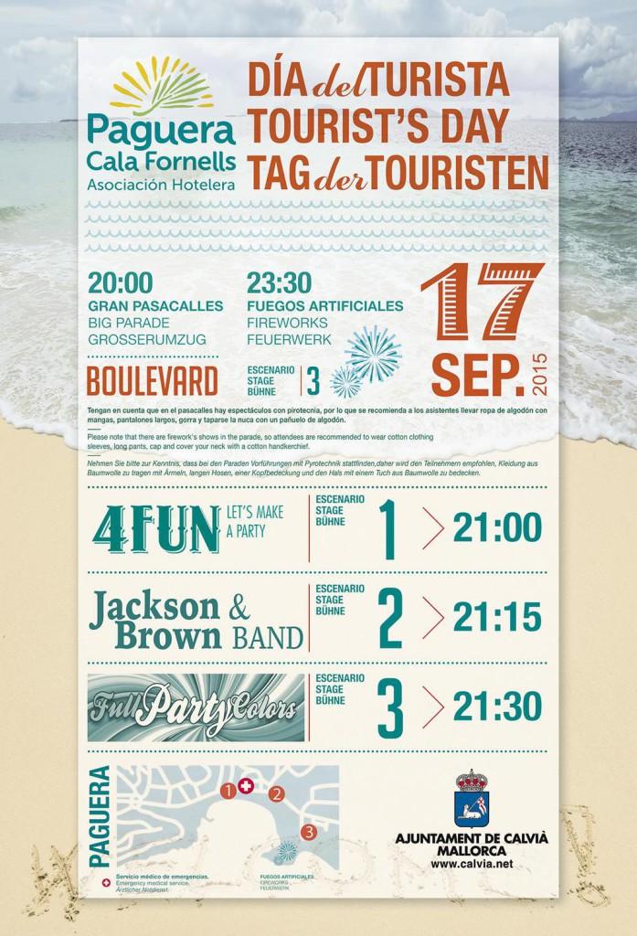 Día del turista 2015